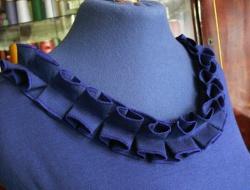 Как сделать горловину на блузке 386
